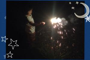 コテージ花火