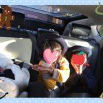 5人乗りの車の後部座席に3つ、チャイルドシートを設置してみた